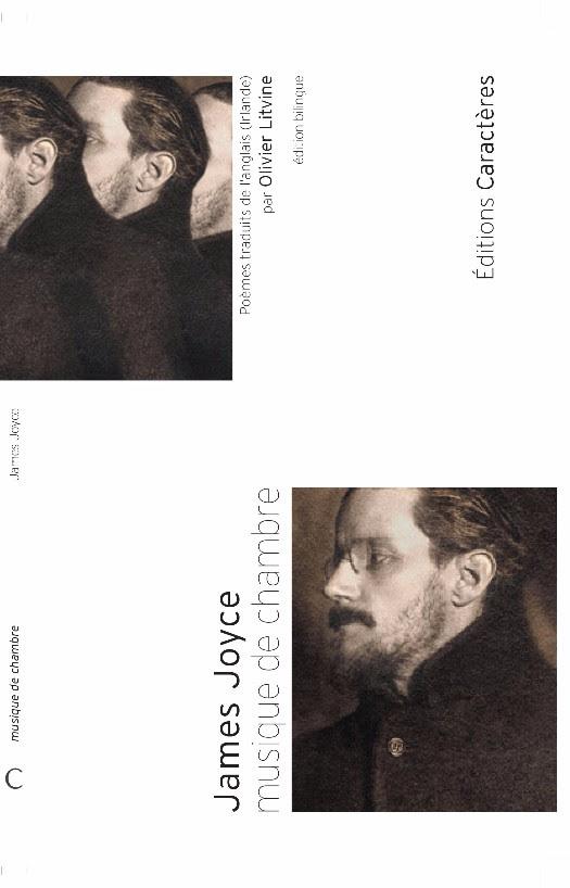 Editions Caractères couv James Joyce